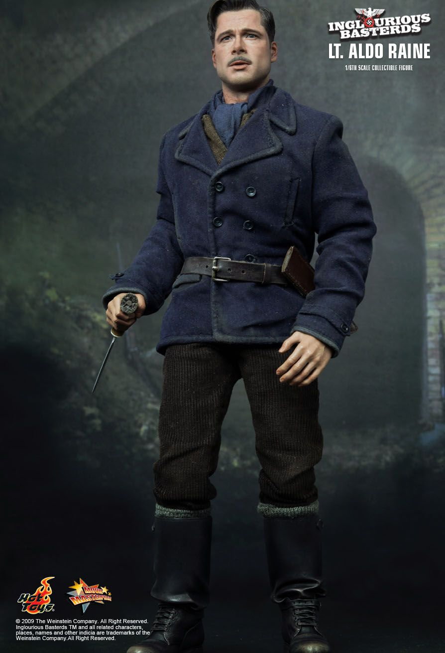Hot Toys : Inglourious Basterds - Lt. Aldo Raine 1/6th ...
