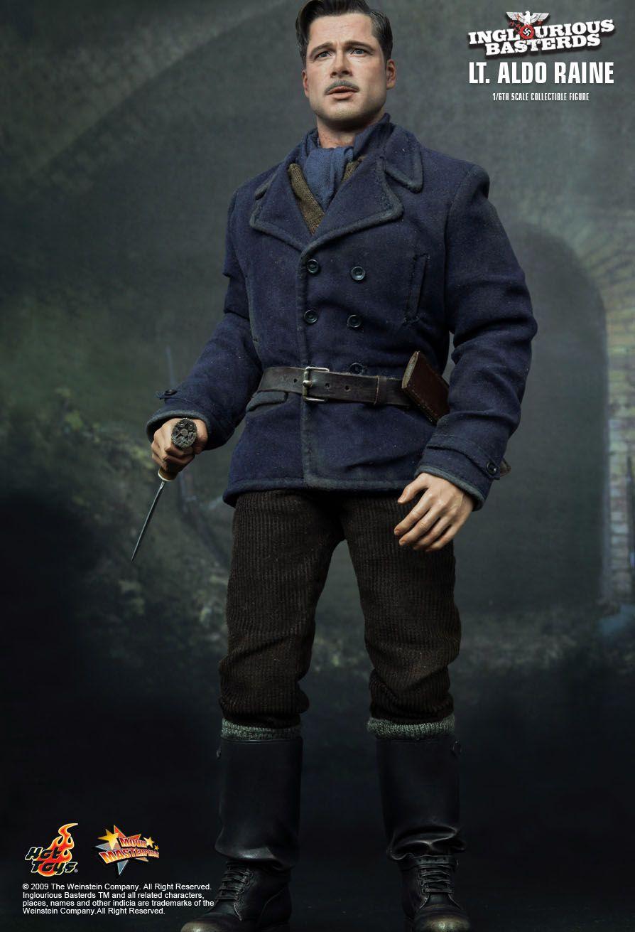 Hot Toys : Inglourious Basterds - Lt. Aldo Raine 1/6th ...