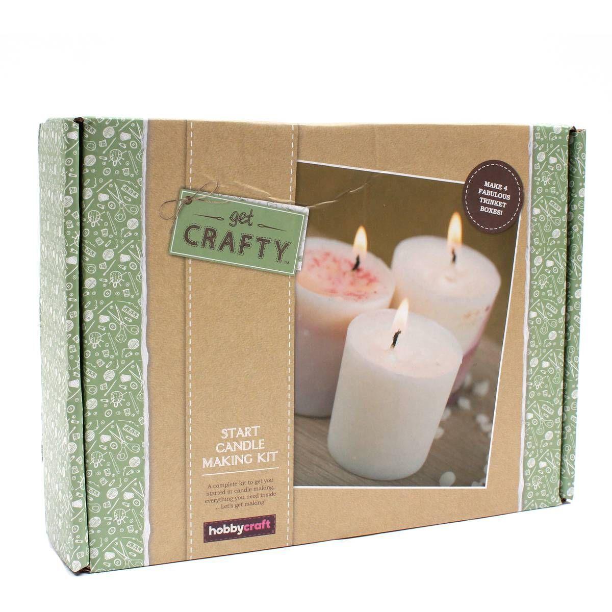 Get Crafty Start Candle Making Kit Hobbycraft Candle