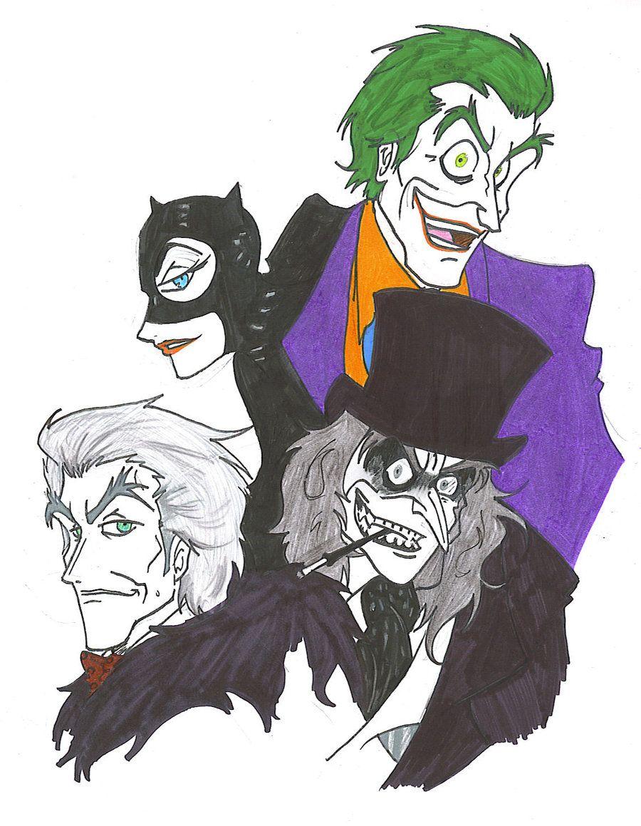 Gotham's Demons by Rinkusu001.deviantart.com on @DeviantArt