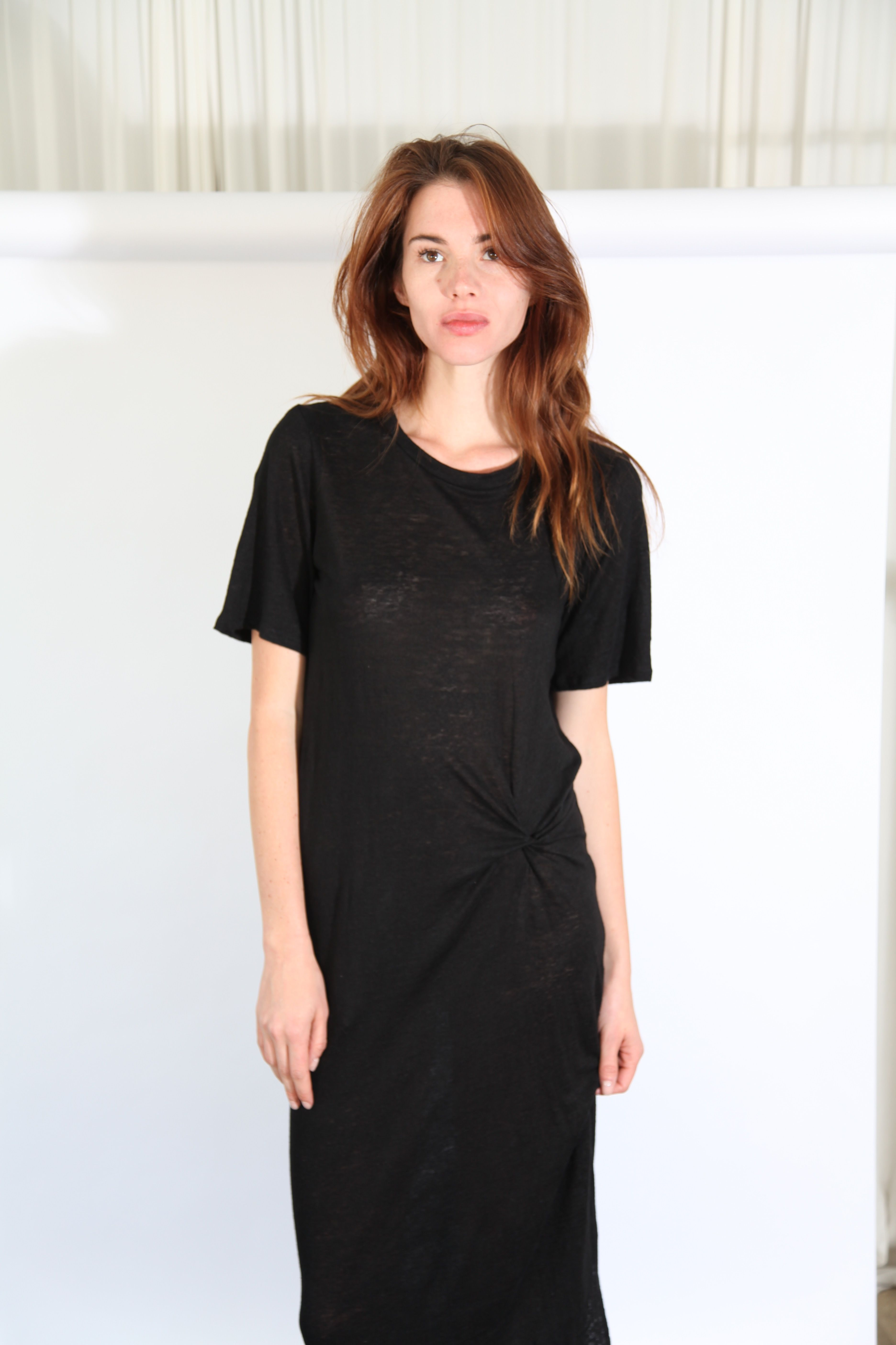 Black dress meaning - Twist Tee Dress Black Objects Without Meaning