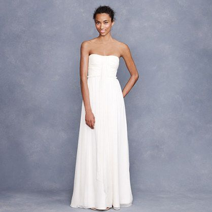 Day 1 A Lovely Wedding Dress If I Had It To Do It Over I Would Be Simple Clean And Fresh J Crew Whitney Gow Wedding Dress Sizes Wedding Dresses Gowns