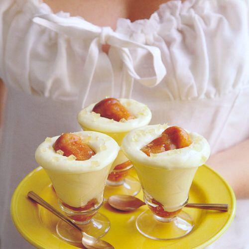 italiaans dessert met limoncello