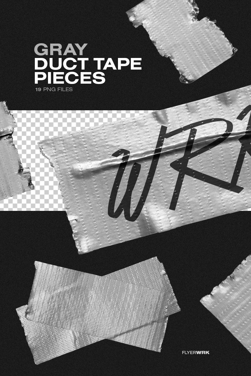 Isolated Adhesive Tape Pieces Texture Graphic Design Creative Poster Design Poster Design