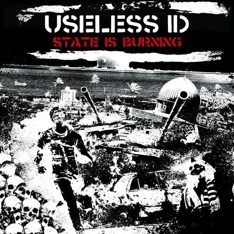 Useless ID State Is Burning Vinyl LP + Download Lp