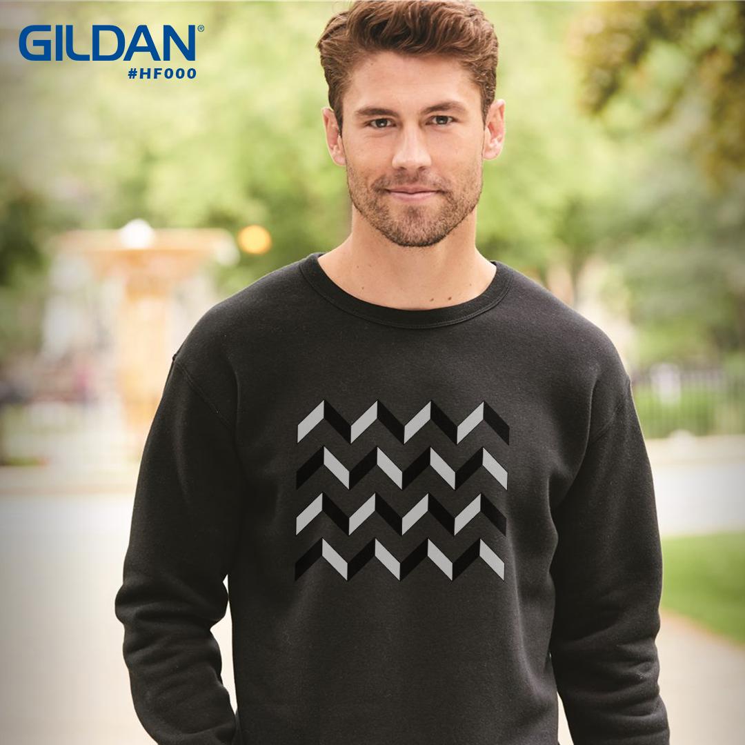Gildan Hammer Fleece Crewneck Sweatshirt Hf000 Sweatshirts Sweatshirt Fleece Crew Neck Sweatshirt [ 1080 x 1080 Pixel ]
