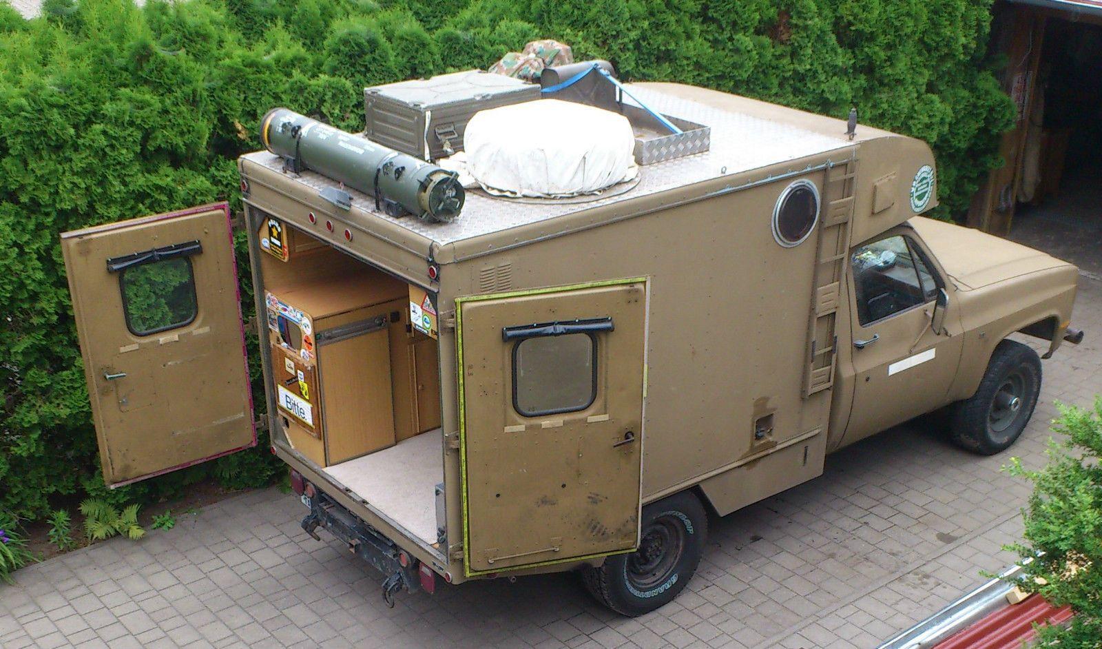 Chevrolet Blazer Ambulance ,Selbstumbau-Wohnmobil , 9kW , 9.9