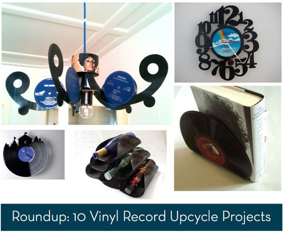 Pin By Jessica Leigh On The Craft Diy Vinyl Upcycle Projects Vinyl Record Crafts