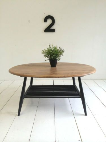 VINTAGE ERCOL COFFEE TABLE 1960s RETRO Ercol coffee table Retro