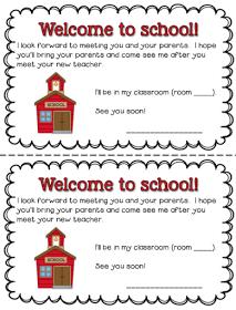 A Special Sparkle: Back to School: Meet the Teacher
