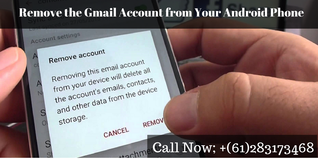 Read this blog and learn how you can #RemoveGmaiAccountFromAndroidPhone. If you want to get more information about account removable process, contact our #GmailSupportPhoneNumber +(61)283173468 and get sufficient info.