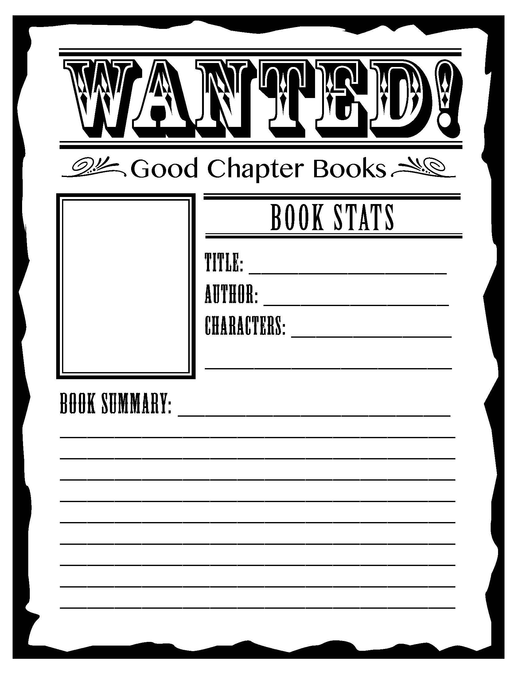 Book Report For 2nd Grade Worksheets