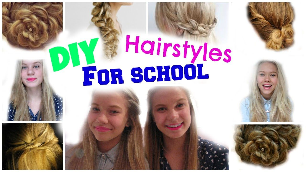2 Minute Hairstyles Easy 2 Minute Hairstyles For Long Hair  Long Hair Hairstyles Curly