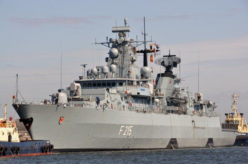 Fregatte Brandenburg (F215) - Deutsche Marine
