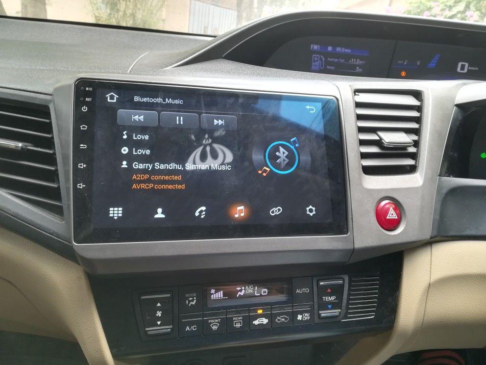 Android Penal Honda Civic 2014 Honda Civic Car Radio