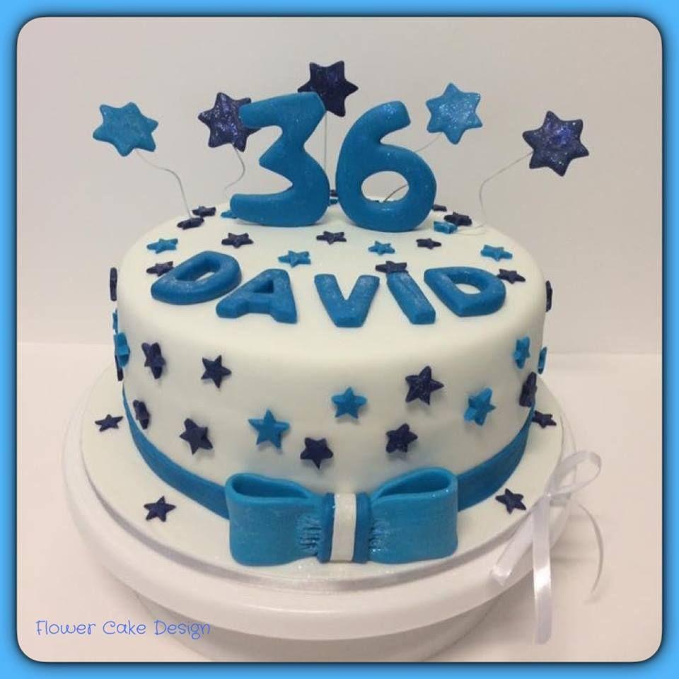 FLOWER CAKE DESIGNER Bolo de aniversário homem Jamilly Pinterest Flor, Bolos e Bolos de  -> Decoração De Aniversario Simples Para Homens