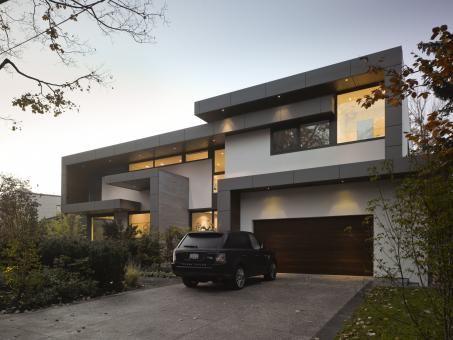 A-Frame / Ben Rahn Arquitectura Pinterest Villa contemporaine - facade de maison contemporaine