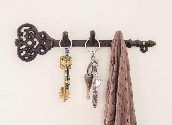 40 Decorative Wall Hooks To Hang Your Things In Style Wall Mounted Key Holder Decorative Wall Hooks Coat Hooks On Wall Decorative wall hooks for hanging