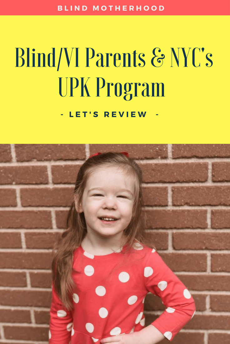 6 Issues Blind/VI Parents Face With The NYC DOE UPK