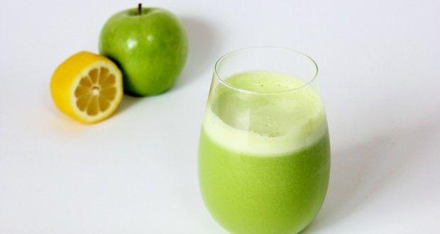 عصير التفاح الأخضر والليمون | وصفات 24