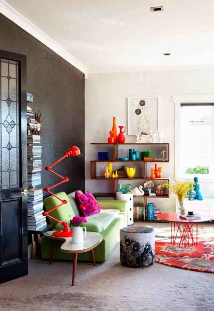 A beautiful bold statement by NZ interior designer, stylist, and ...