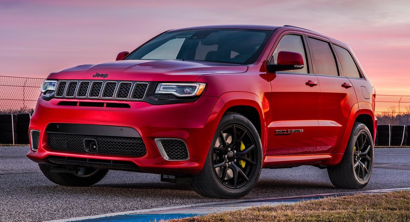 2018 Jeep Grand Cherokee Trackhawk 707 Hp Suv Srt Jeep Jeep Grand Cherokee Jeep Grand
