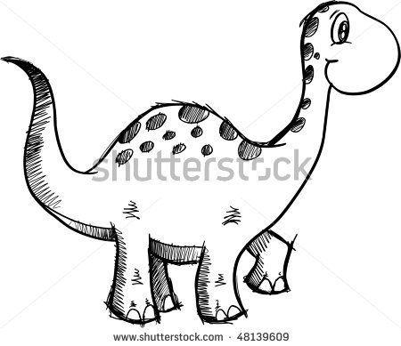 dinosaur doodle   PRETTY DOODLES   Pinterest   Doodles, Doodle ...