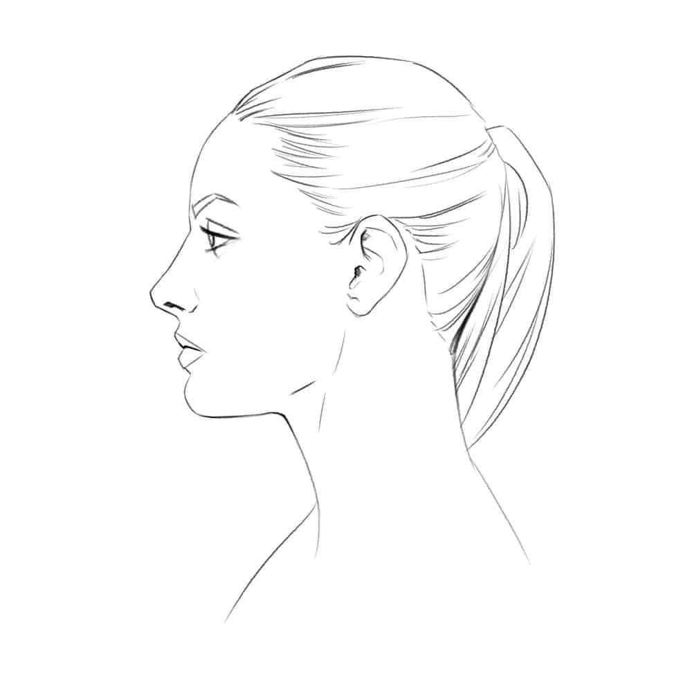 Kopf Profil Zeichnen - My Blog