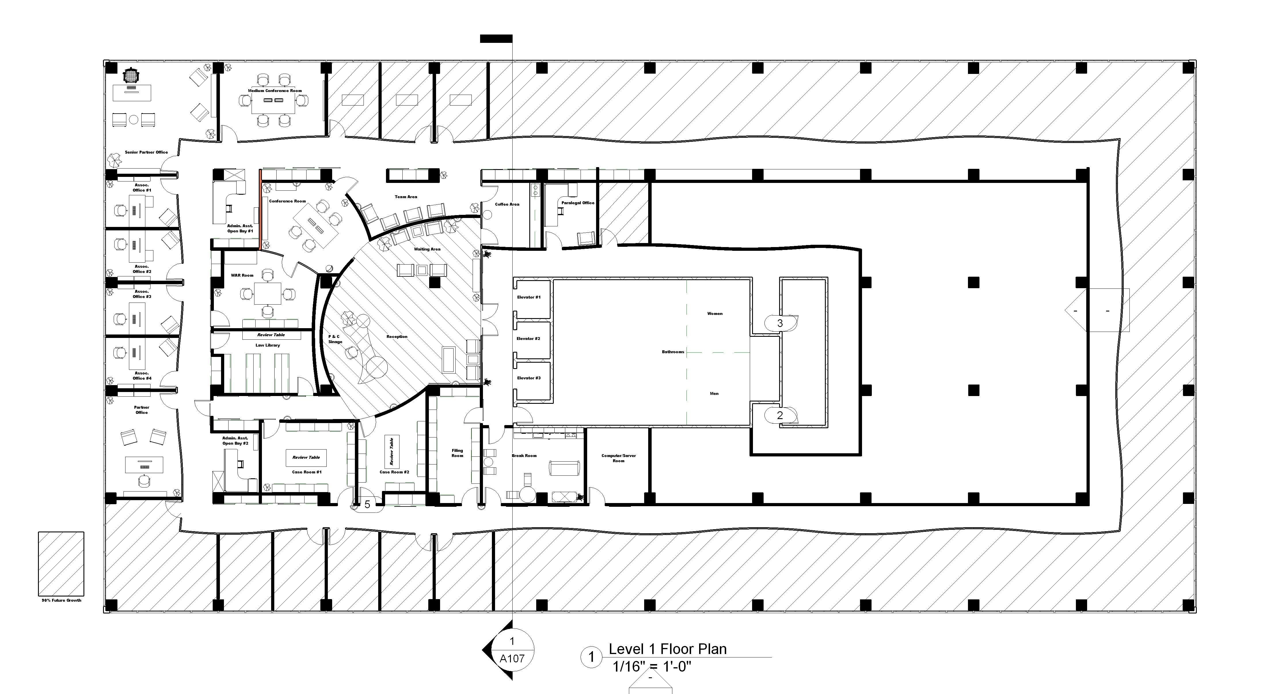 Law office floor plan design google search benin for Office floor plan