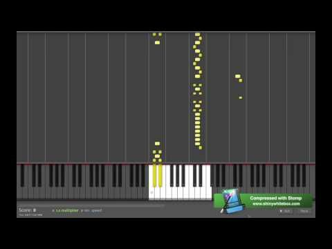 Flight of the Bumblebee - Piano - Synthesia - YouTube