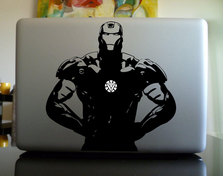 Macbook custom ironman vinyl sticker buy now at http www amazon