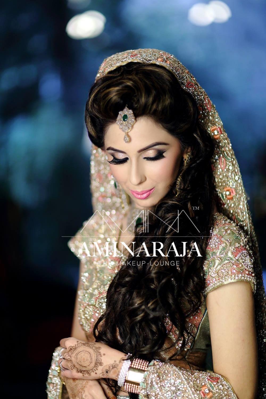 walima bridal makeup by amina raja | valima bridal makeup