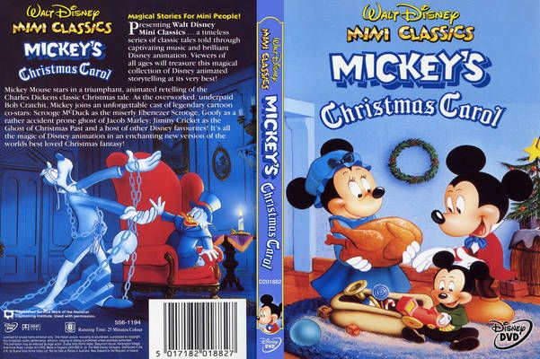 Mickeys Christmas Carol Dvd.Freecovers Net Mickey S Christmas Carol 1983 R0
