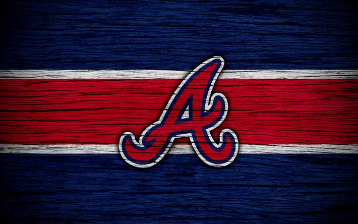Download Wallpapers Atlanta Braves 4k Mlb Baseball Usa