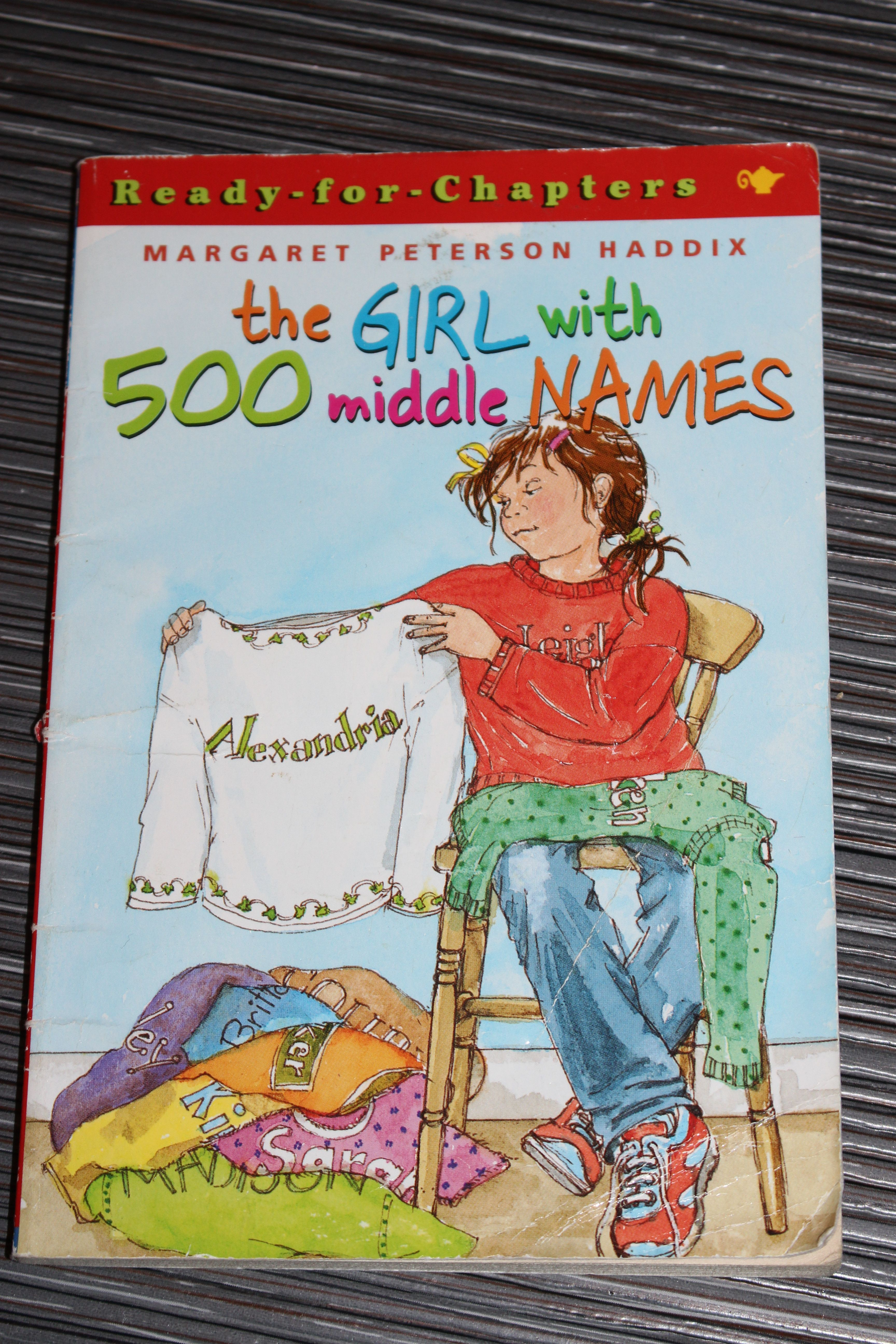 The Girl With 500 Middle Names Author Margaret Peterson Haddix