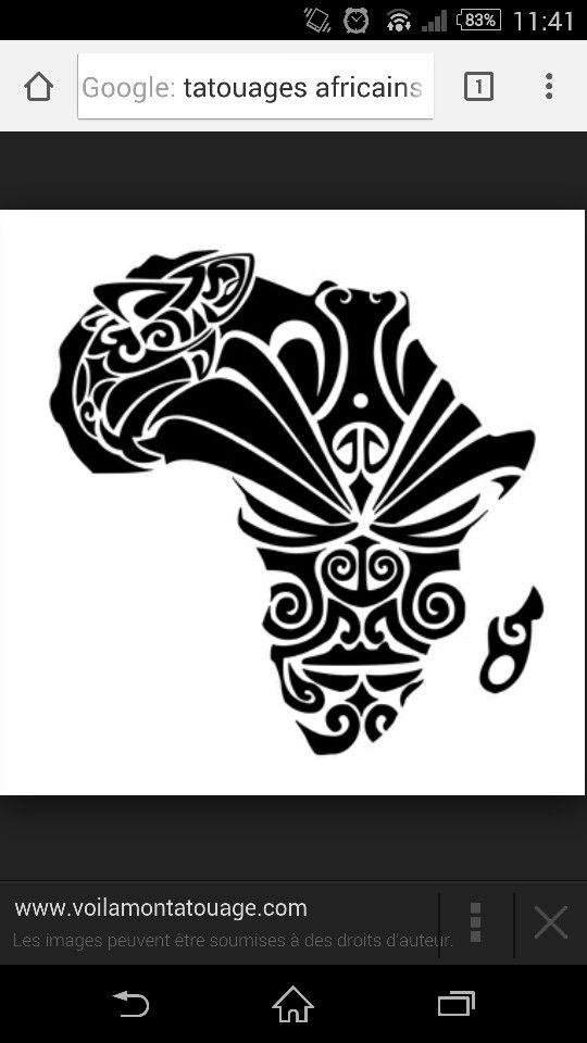 Tatouage africain
