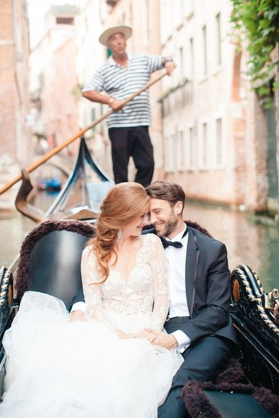 elegant venice wedding
