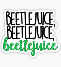 Beetlejuice Musical Stickers Beetlejuice Musicals Retail Logos