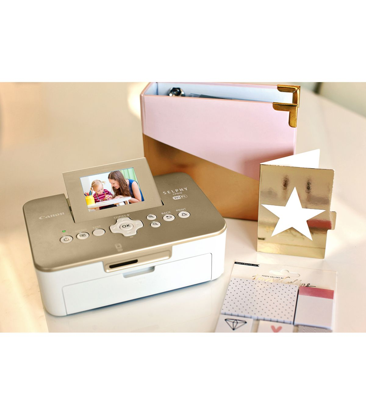Canon Selphy Cp910 Compact Photo Printernull New Hobby Photo