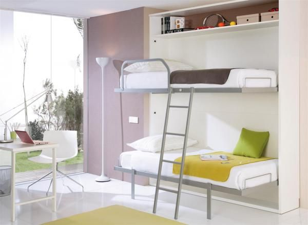 Fold Away Wall Bunk Beds, Choose Your Colours