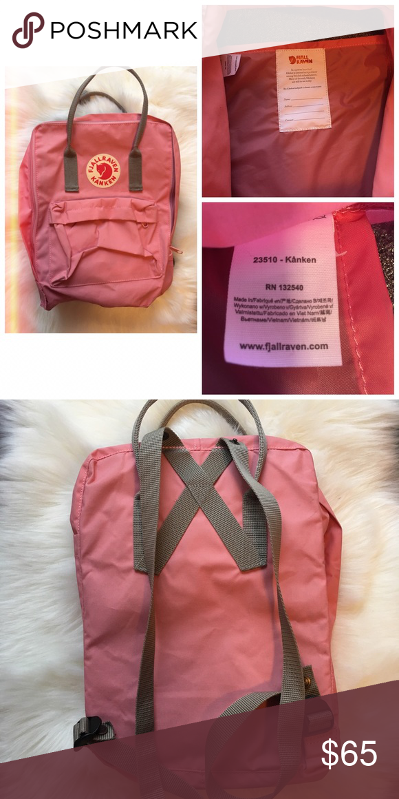 Fjallraven Kanken backpack NWOT, authentic and purchased from