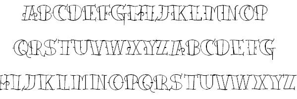 tattoo lattering cool font 25 Cool Tattoo Fonts   Font   Pinterest ...