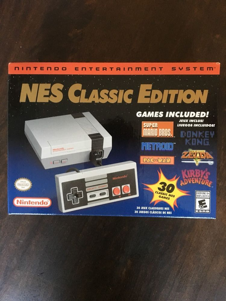 Brand New Unopened Nintendo Nes Classic Edition Usa Version