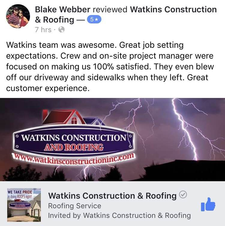 Pin by Watkins Construction & Roofing on Remodel Roofing