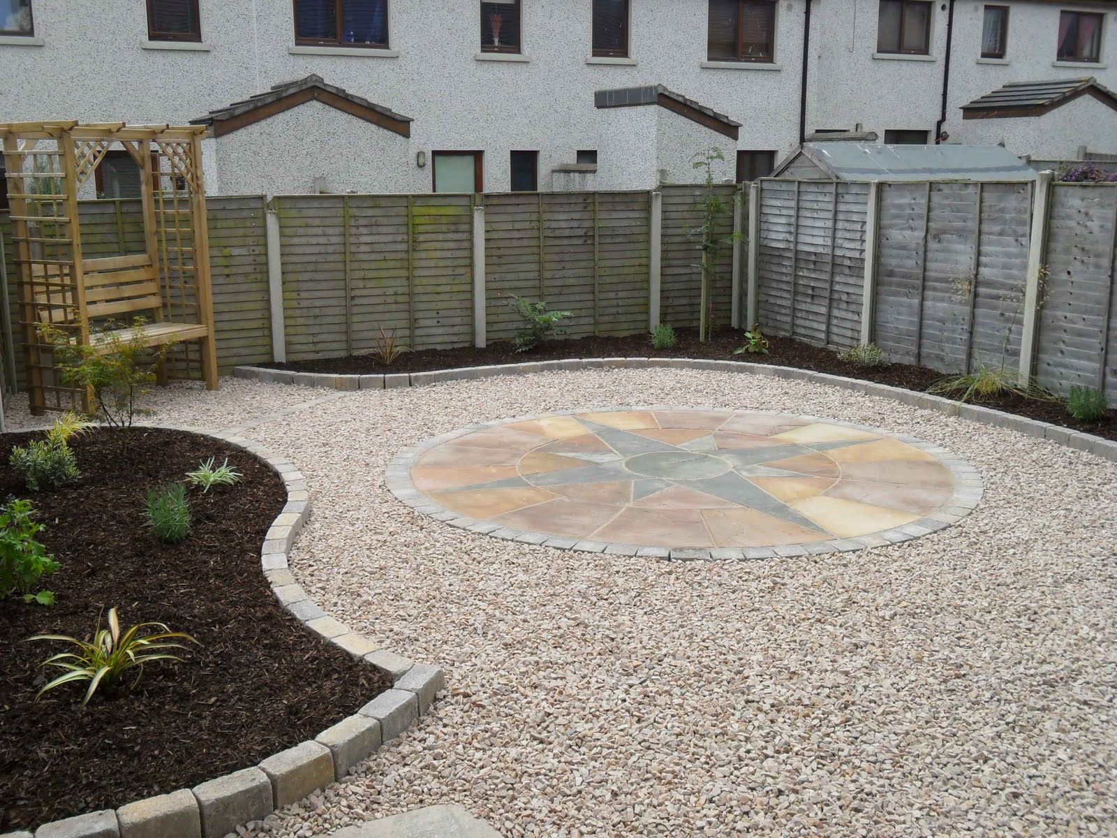 Garden Design Easy Maintenance this is a low maintenance garden with only small lawn to maintain
