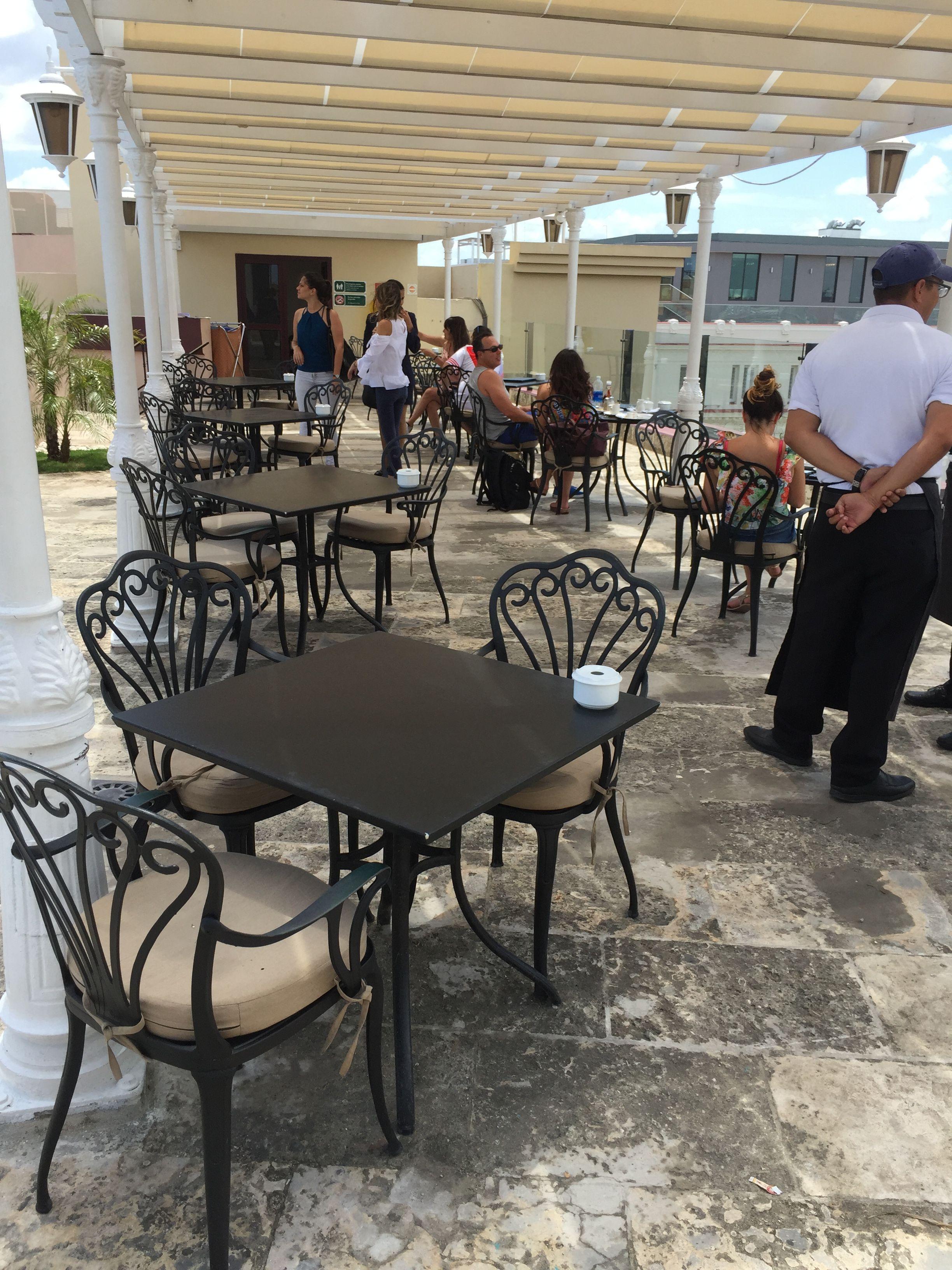 Terraza Del Hotel Parque Central Hotel Del Parque