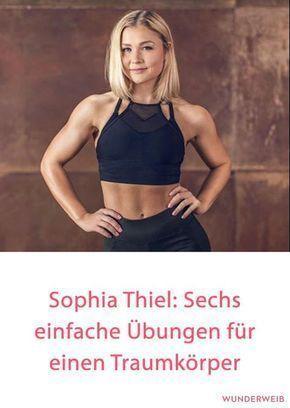 #aus #besten #Die #FitnessProgramm #ihrem #Sophia #Thiel #Übungen Sophia Thiel: Die 6 besten Übungen...