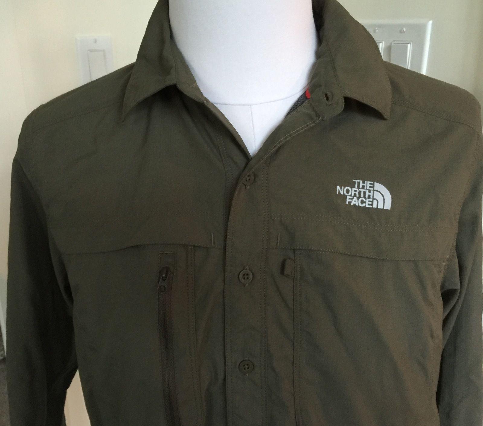 83bd1585ea8 NEW mens sz Med North Face Men s Long Sleeve Cool Horizon Shirt SALE  35.50   My Families Closet