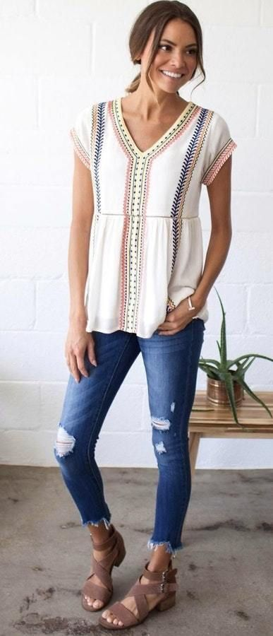 223b702ee379 40+ Amazing OOTD Summer Outfit Ideas