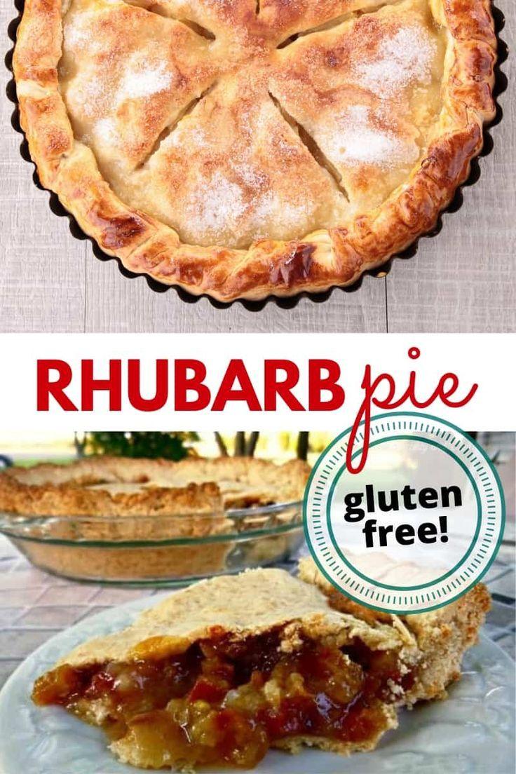 Gluten-free rhubarb pie | Recipe | Rhubarb pie, Food ...